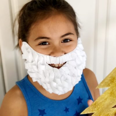 DIY Costume Beard and Mustache