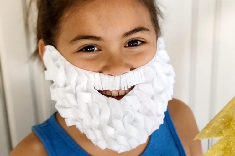 DIY Costume Beard and Mustache