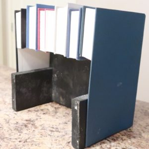 DIY Hidden Storage Box with Recycled Books