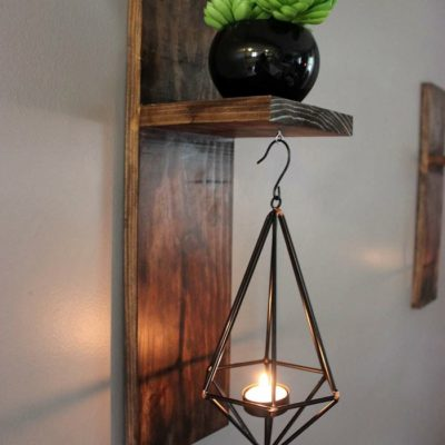 DIY Modern Wall Sconces