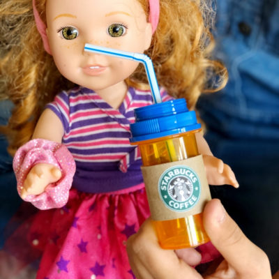 DIY Doll Starbucks Drinks