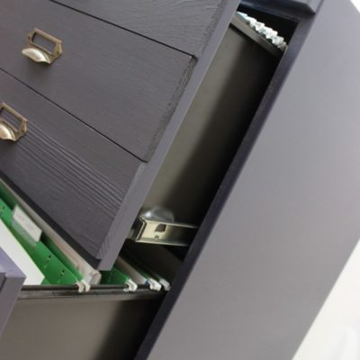 How to Makeover Your Old Filing Cabinets