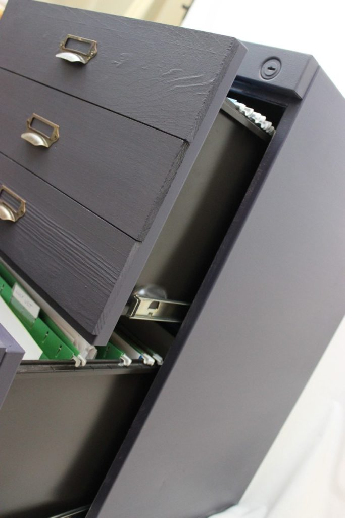 Filing Cabinet Makeover DIY