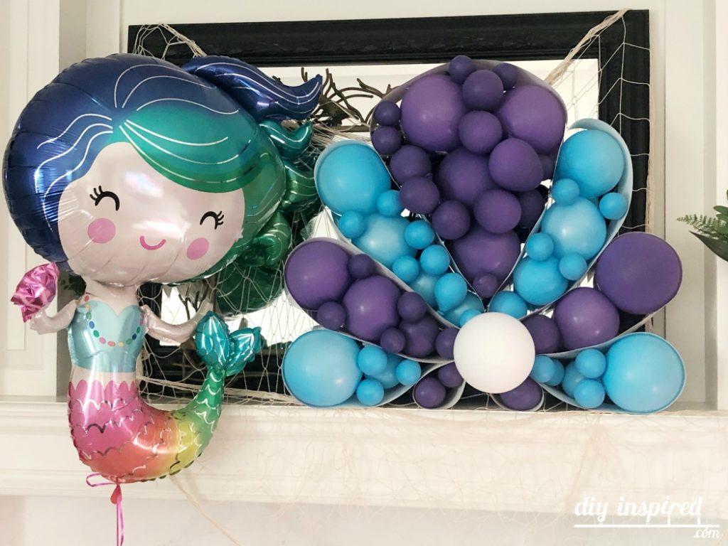 DIY Shell Balloon Art