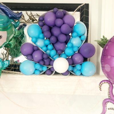 DIY Seashell Balloon Art