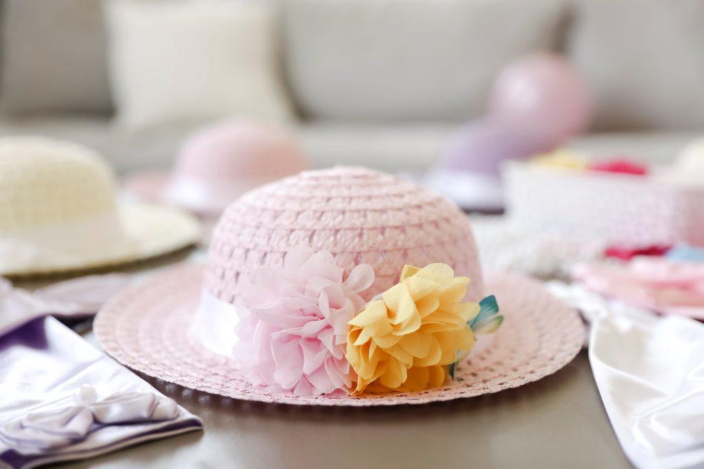 Hats for a Fancy Nancy Tea Party