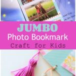Jumbo Photo Bookmark Craft for Kids