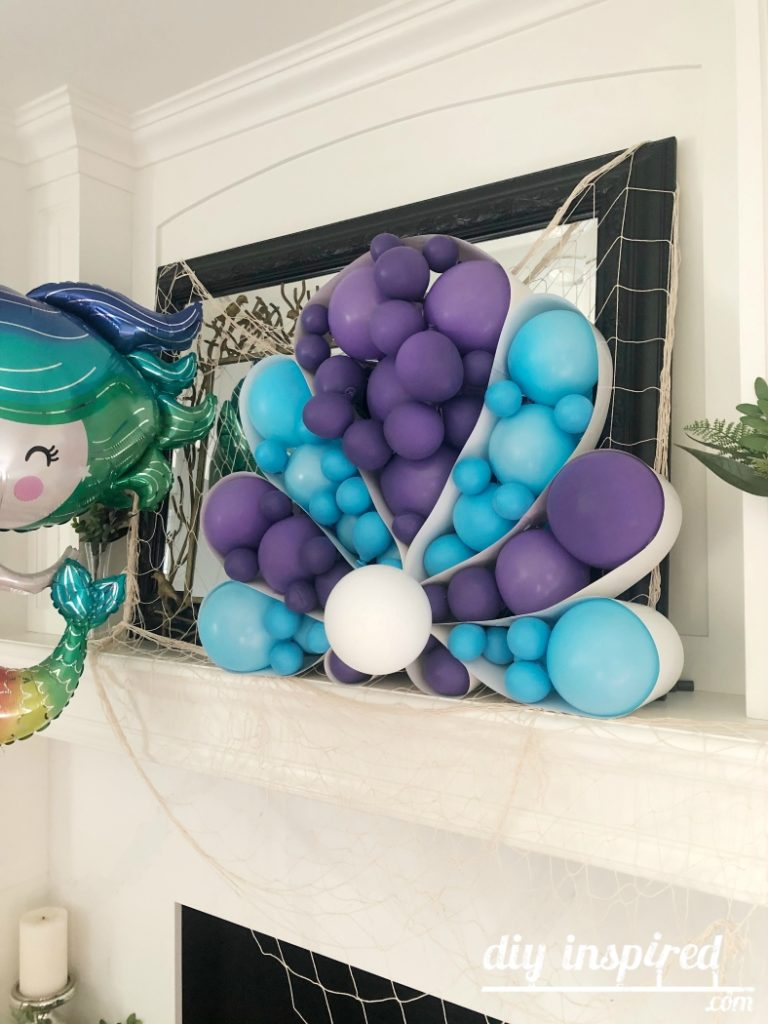 Little Mermaid Balloons for Party