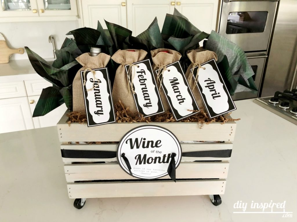 Wine of the Month Gift Basket