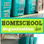 DIY Homeschool Organization Ideas