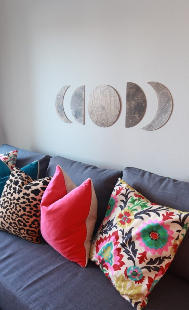 DIY Lunar Moon Wall Art