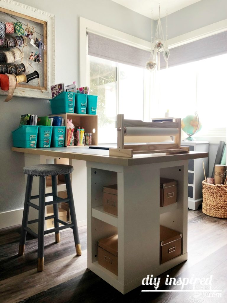 Homeschooling Station Ideas - DIY Inspired