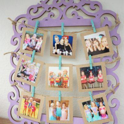 Mini Photo Memory Frame