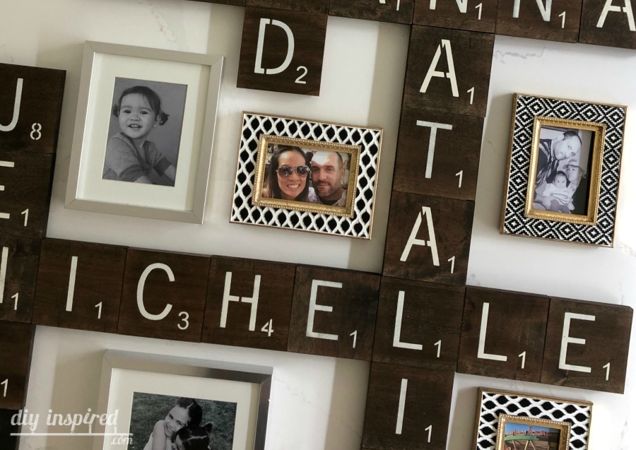 DIY Scrabble Tile Letters