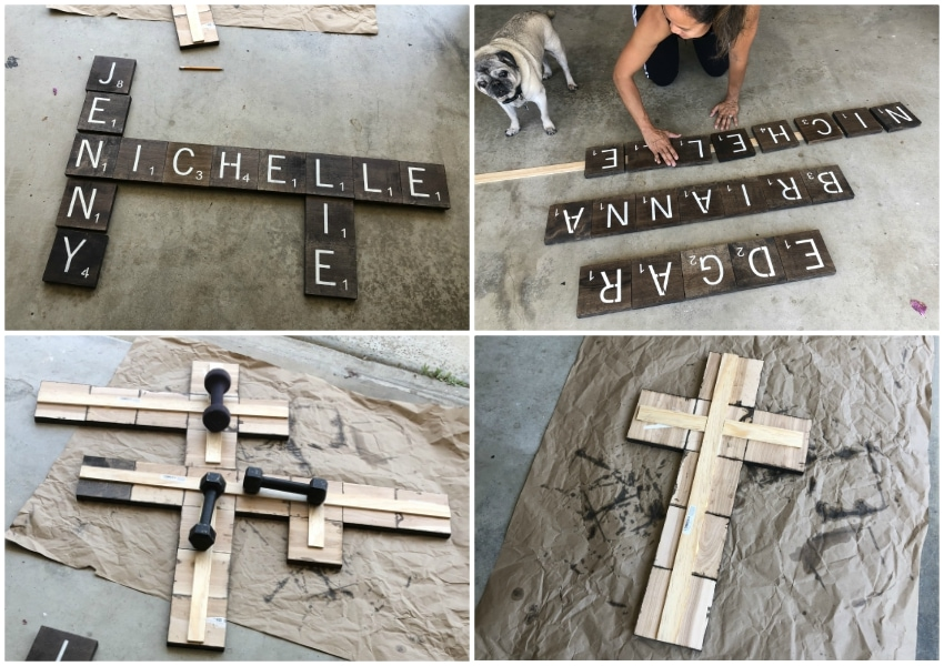 How to Make Scrabble Tile Wall Art