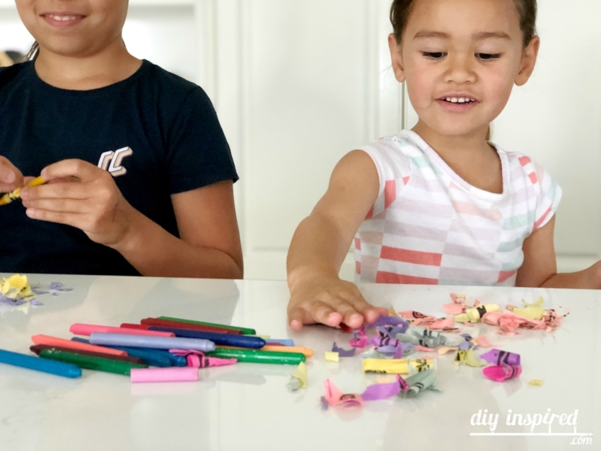 Melting Crayons Craft for Kids