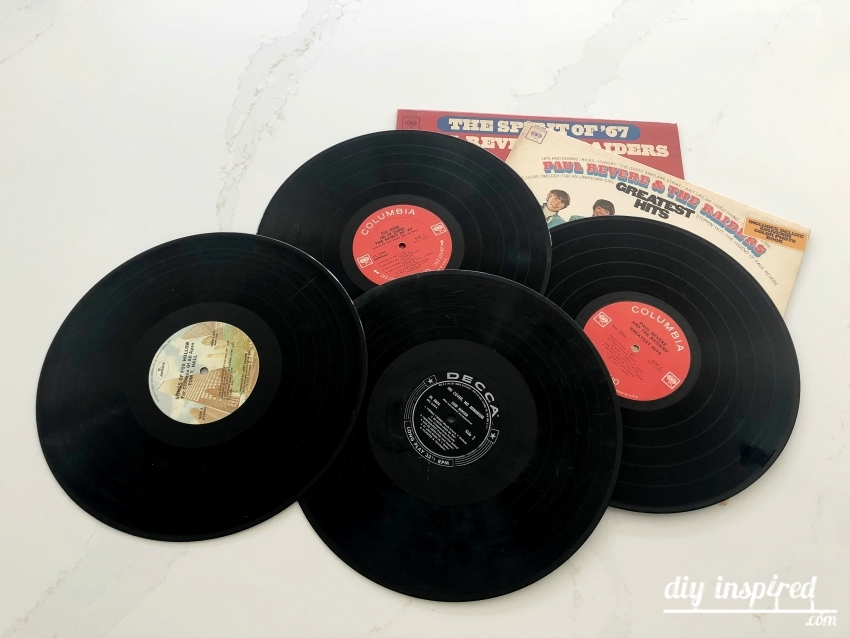 Repurposed Vinyl Records Idea