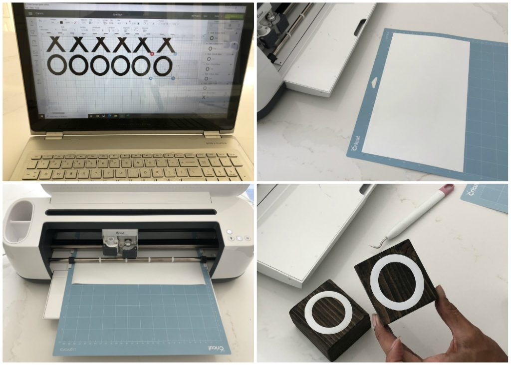 Tic Tac Toe Cricut Project