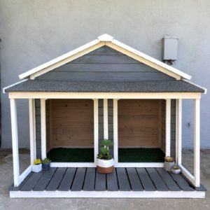 Double Dog House Makeover
