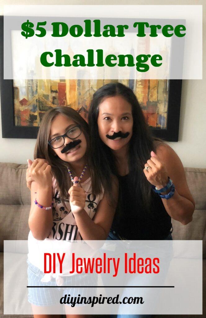 $5 Dollar Tree DIY Jewelry Challenge