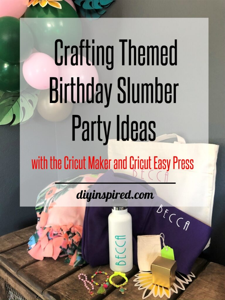 Crafting Ideas with the Cricut Maker - DIYInspired