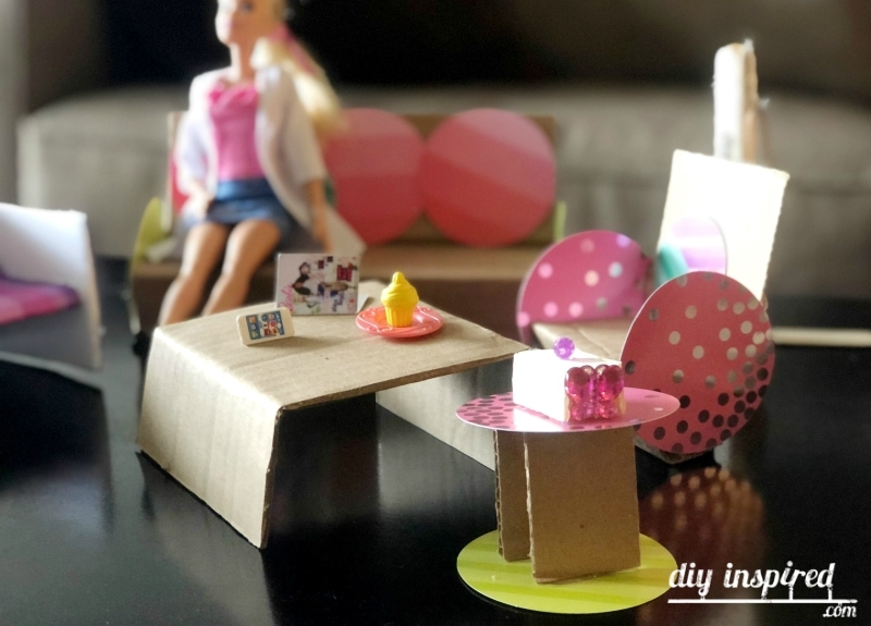 DIY Barbie Doll Furniture Ideas
