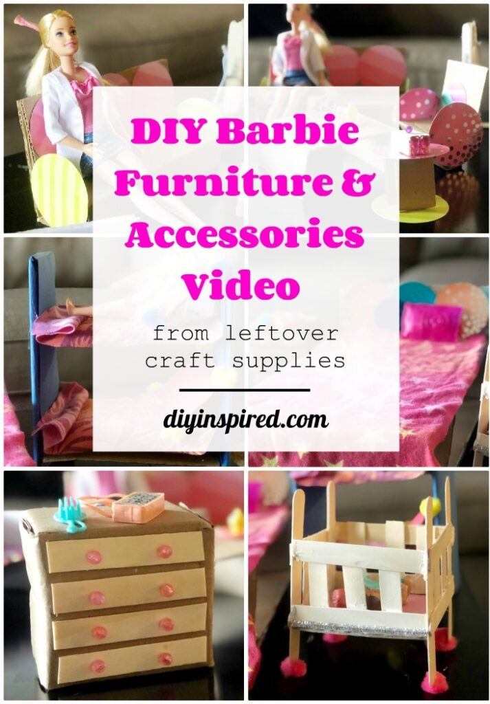 DIY Barbie Furniture - DIY Inspired