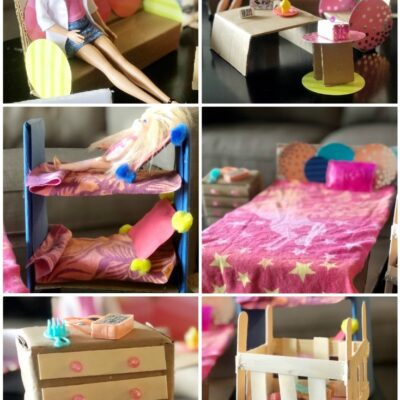 DIY Barbie Furniture and Accessories
