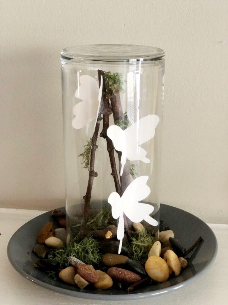 DIY Butterfly Terrarium Craft