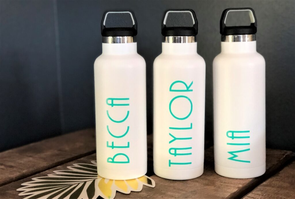 DIY Personalized Water Bottles