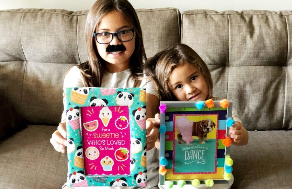 Easy DIY Picture Frames Crafts for Kids