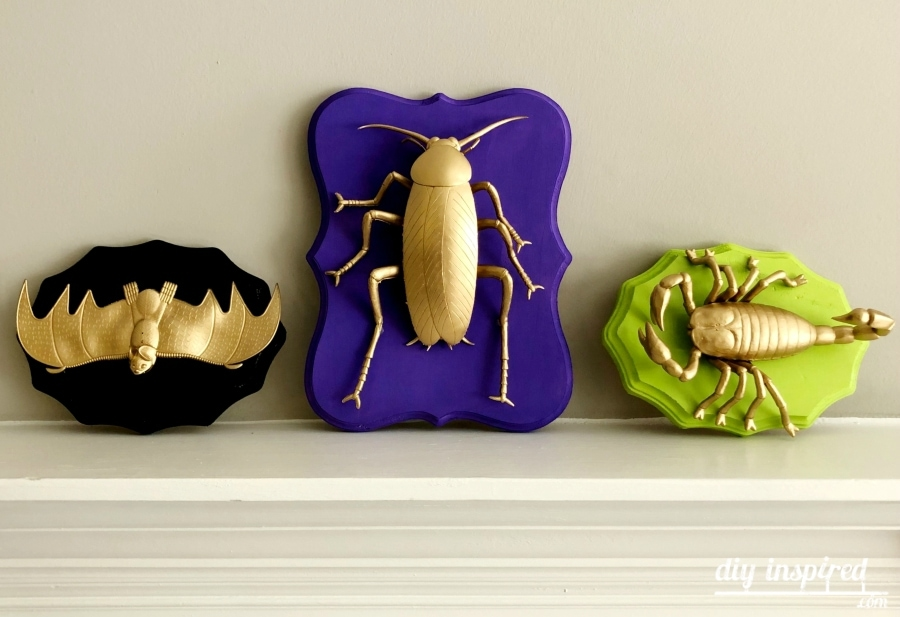 Gold Halloween Home Decor