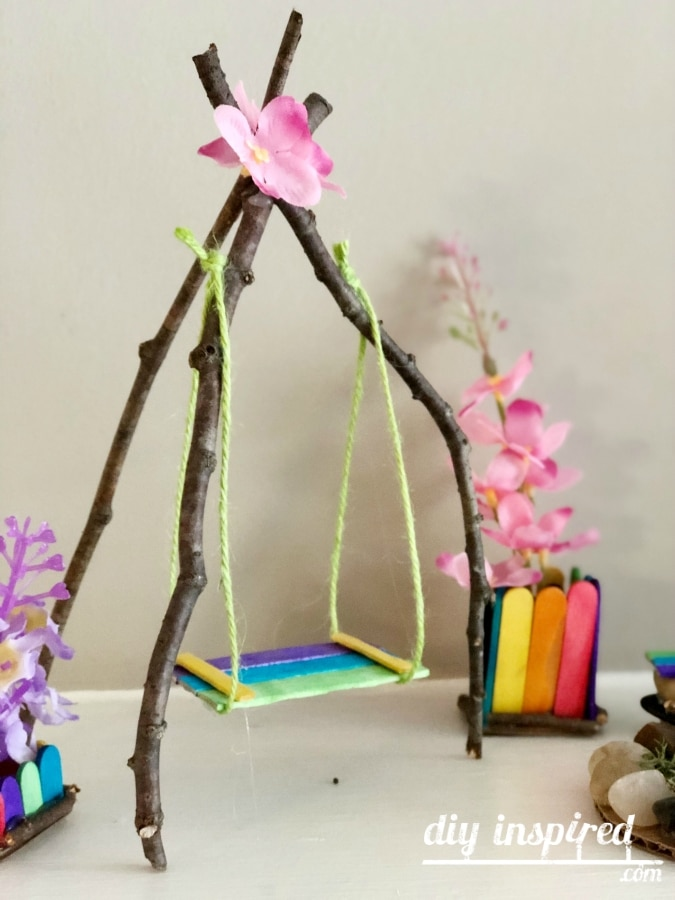 DIY Fairy Swing