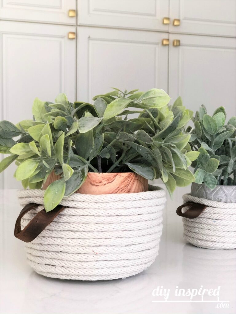 DIY Rope Baskets