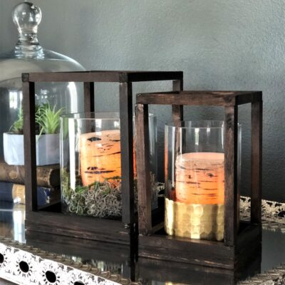 DIY Custom Wooden Lanterns