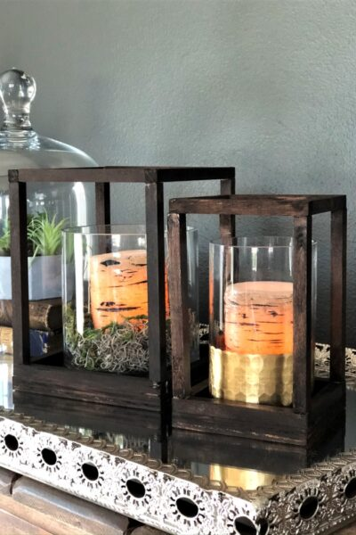 DIY Wooden Lanterns