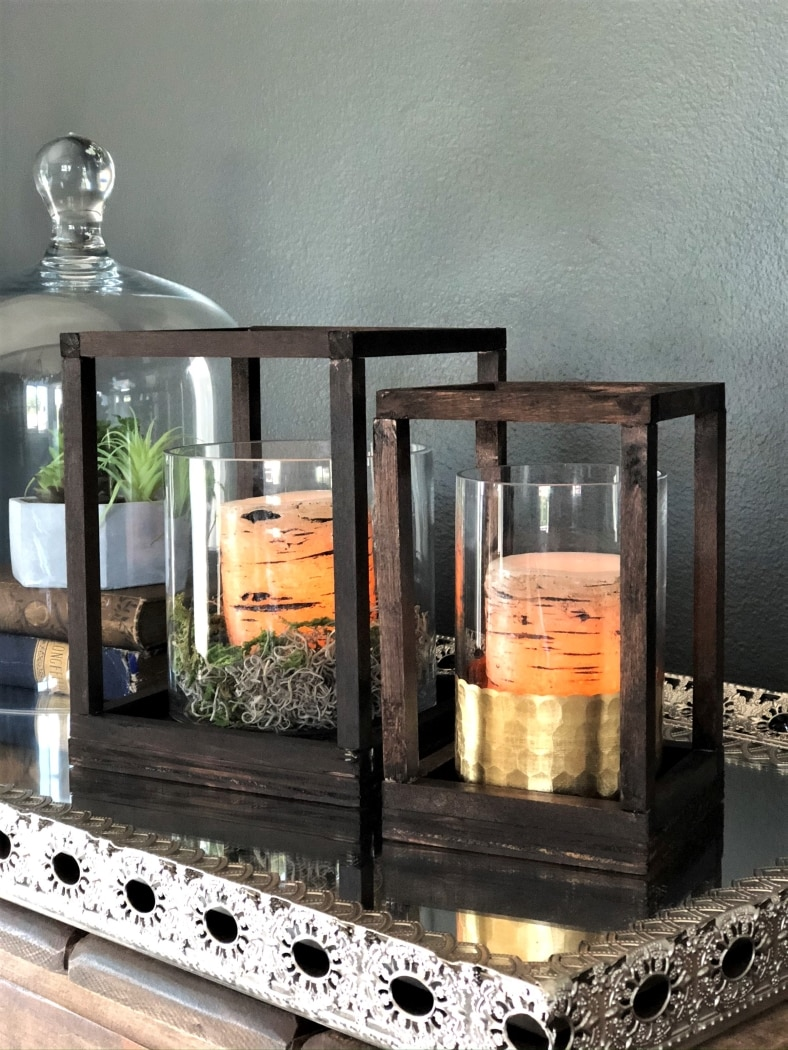 Diy Custom Wooden Lanterns Diy Inspired