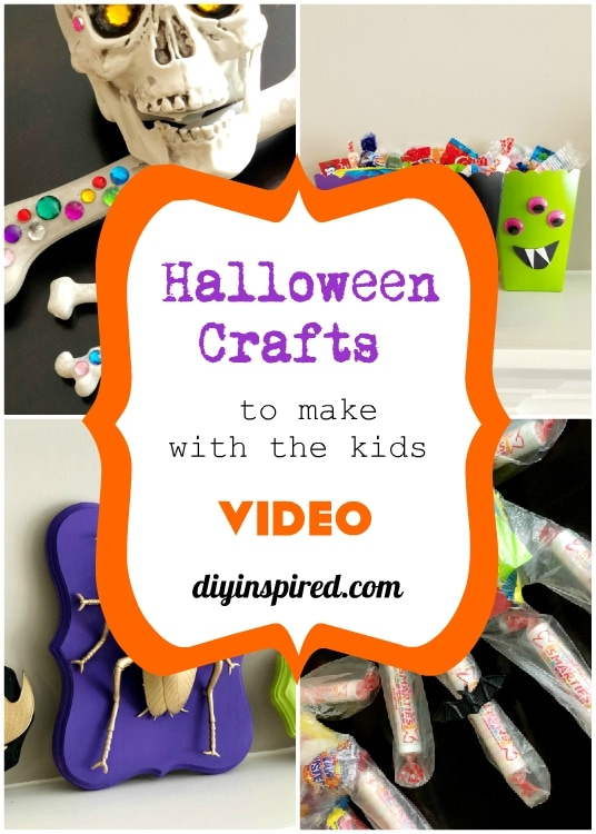 Halloween Crafts to Make with the Kids