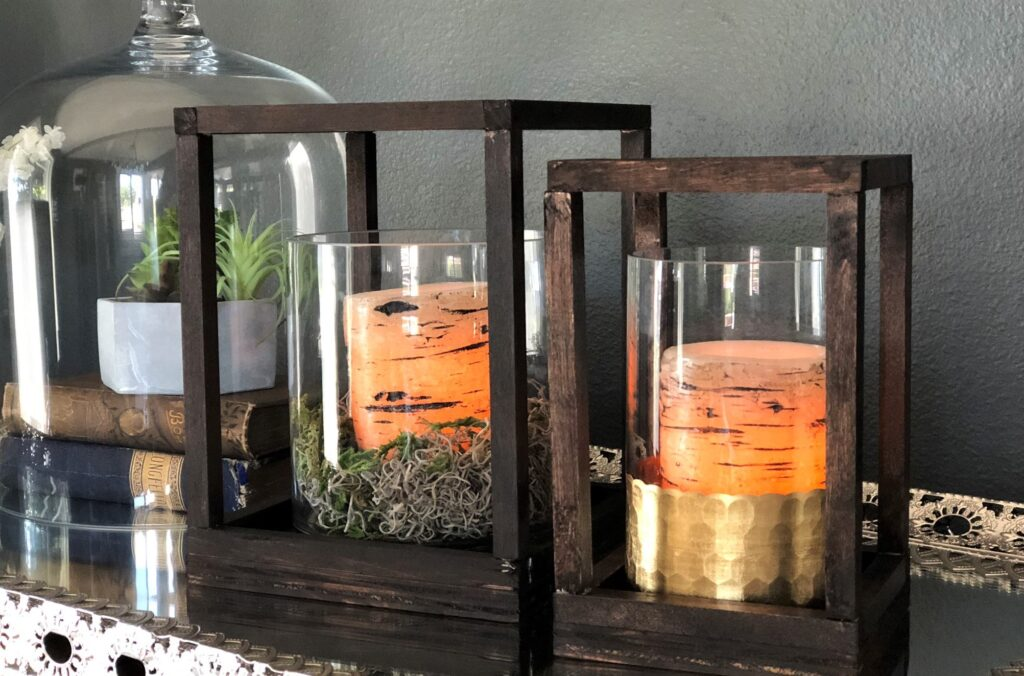 Make Your Own Wooden Lanterns