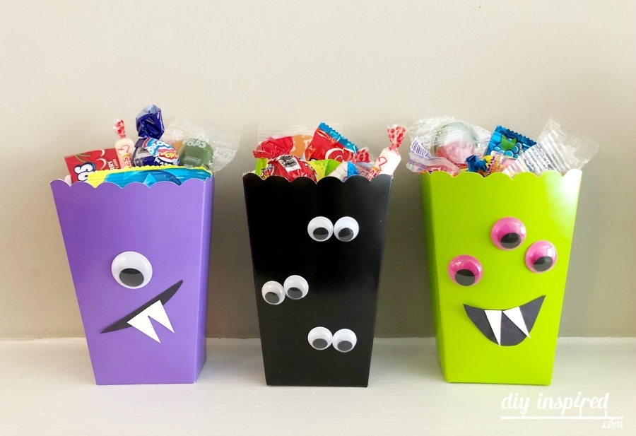 Monster Treat Boxes - DIY Inspired