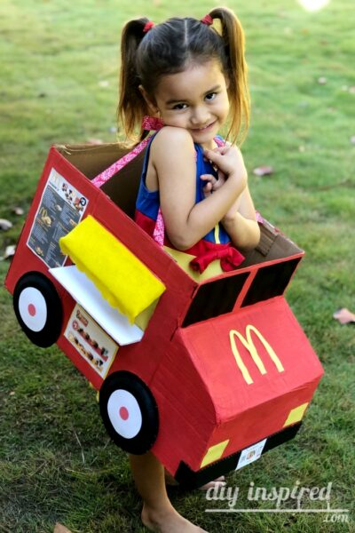 DIY Food Truck Halloween Costume