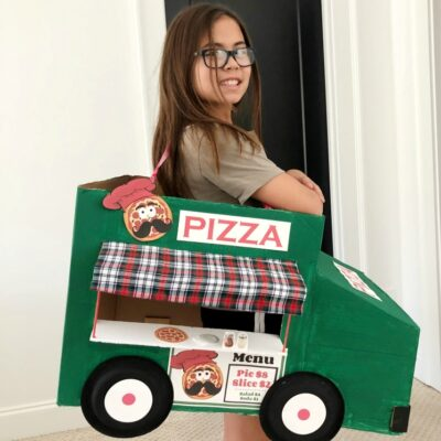 Pizza Food Truck Costume