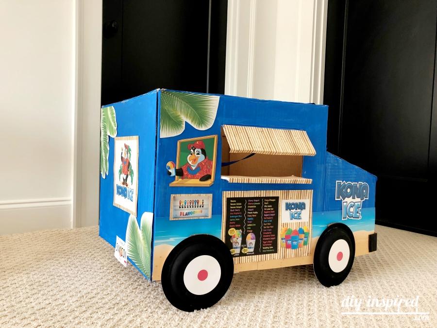 DIY Shipping Box Truck Costume