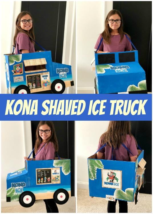 Kona Ice Truck Halloween Costume