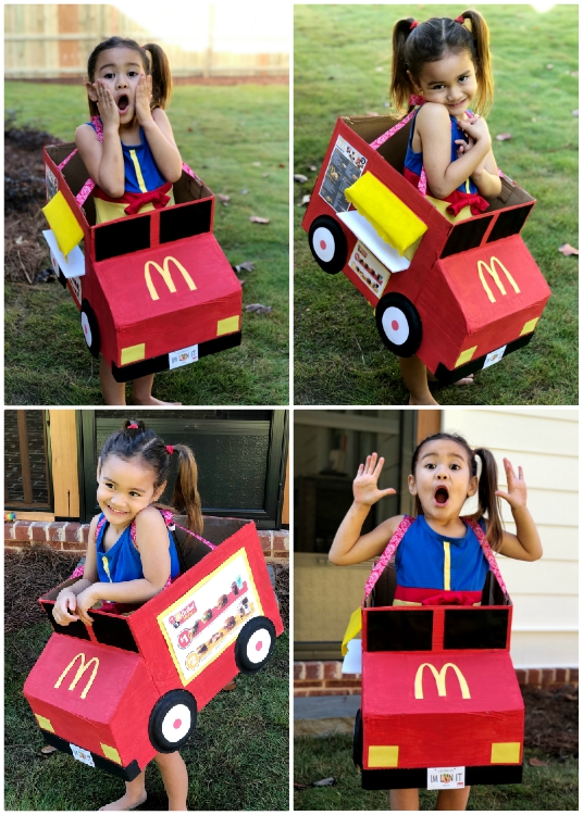 McDonald's Halloween Costume DIY