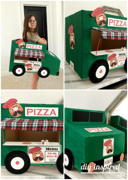 Pizza Truck Costume