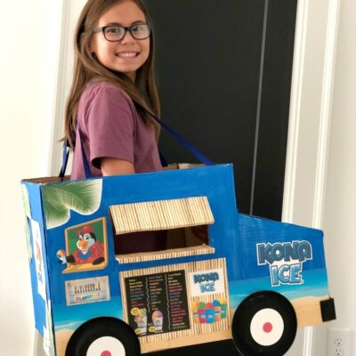 Kona Ice Truck Halloween Costume