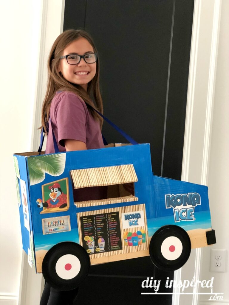 Shaved Ice Truck Halloween Costume