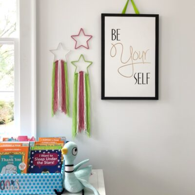 Easy Nursery Decor Idea