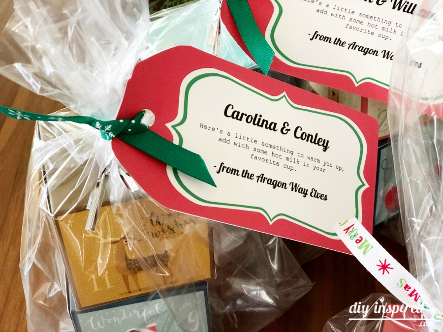 Hot Cocoa Box Gift Idea with Poem